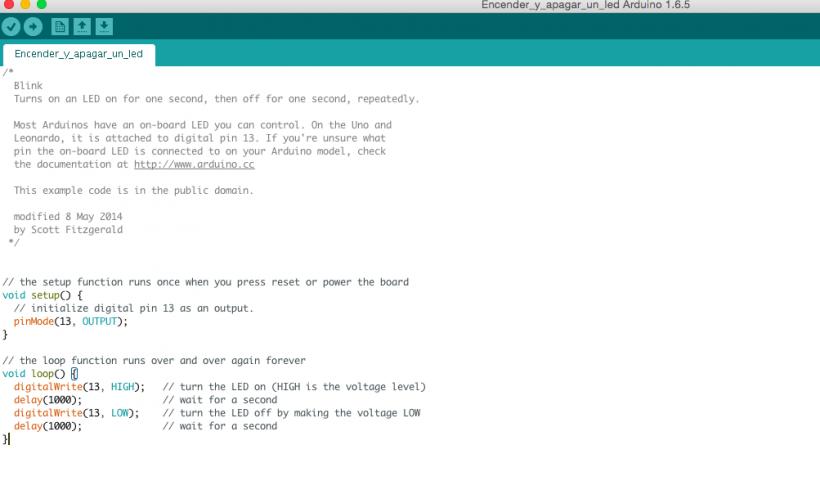 Estructura De Un Programa En Arduino Open Lanuza