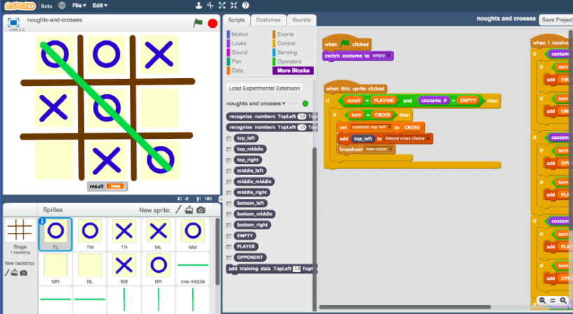 Inteligencia Artificial Con Scratch Open Lanuza